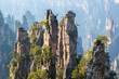 Leinwanddruck Bild - Zhangjiajie National forest park China