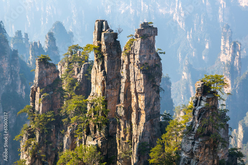 Zhangjiajie National forest park China - 61060037