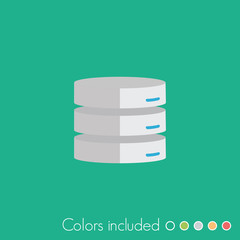 Server - FLAT UI ICON COLLECTION