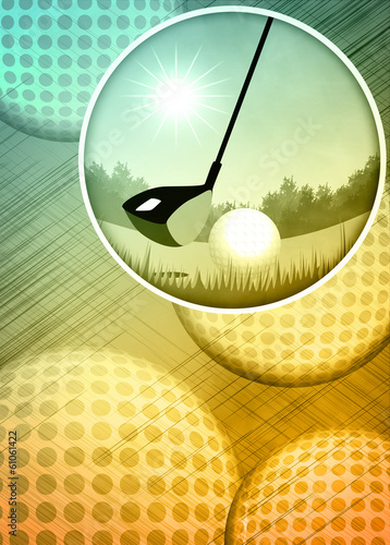 Papiers peints Golf Golf background