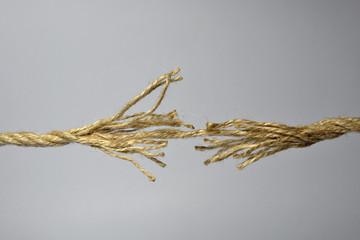 Broken rope