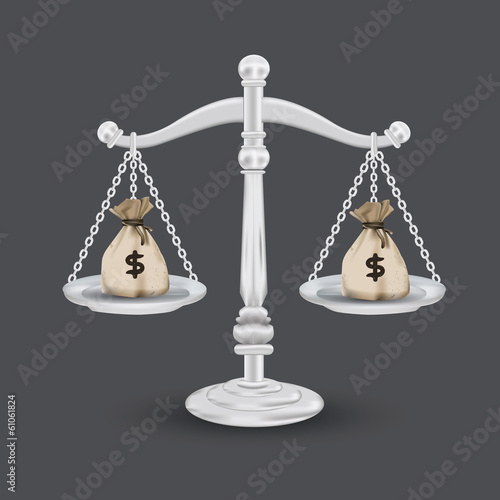 scales of justice,vector