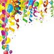 bunter Geburtstagshintergrund