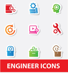 Gears icons,vector