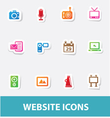 Technology icons,vector