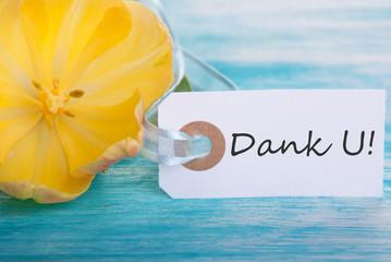 Banner with Dank U