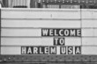 Welcome to harlem Usa Sign