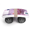 Euro cash on wheels