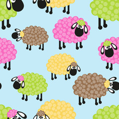 Sheep seamless