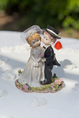Decoration on a Wedding Cake