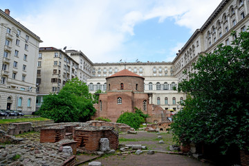 Church of Saint George, oldest church in Sofia, Bulgaria