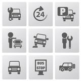 Auto car icons,vector - 61066451