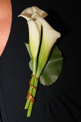 fleur a la poitrine