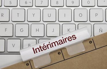 Intérimaire. Clavier