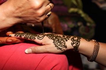 préparatif henné