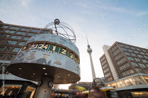 Fotobehang Berlijn berlin alexanderplatz