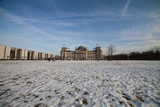 berlin bundestag im winter