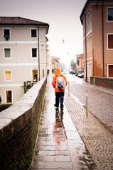 uomo della pioggia
