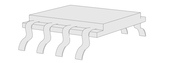 cartoon image of electronic part
