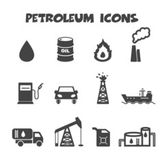 petroleum icons
