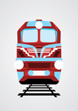 Train illustration. Vector EPS10.