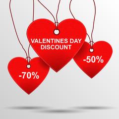 Heart sale tags