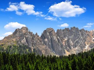 Mt Latemar, Dolomites, Italy