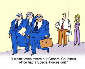 Special forces for counsel