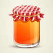 Vector Illustration of Homemade Jam