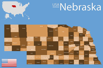 USA - State of Nebraska