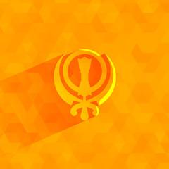 Sikhism. Vector format