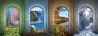 Vier Jahreszeiten -  Collage 4 - 61080844