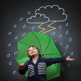 Fototapety Singing in the rain