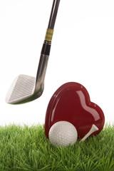 Golf in a studio