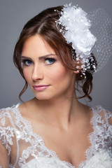 Portrait of a bride