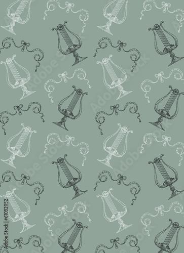 Fotobehang Kunstmatig Vintage pattern