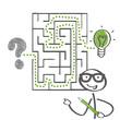 Labyrinth, Lösungsweg, Ausweg
