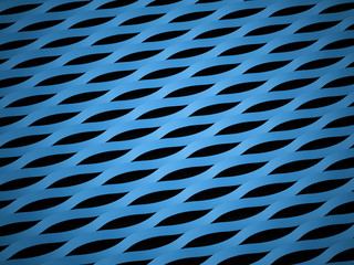 Abstract blue mesh background