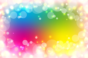 white circle on colorful background.vector.