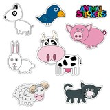 baby stickers home animals