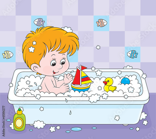Child bathing