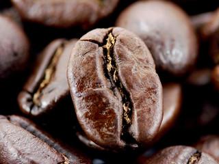 Chicchi di caffe primo piano 1