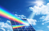 Solar energy renewable energy concept