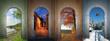 Vier Jahreszeiten -  Collage 1 - 61090289