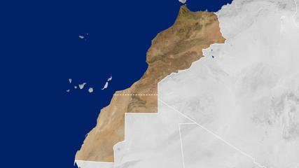 Morocco + Western Sahara - Day