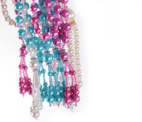 multicolour Pearl necklace