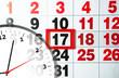 calendar and clock - 61091845