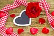Kartenmotiv Valentinstag, Muttertag, Vatertag,...
