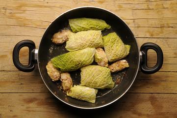 Verze ripiene Repollo relleno Cabbage