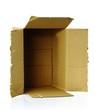 Geöffnete Verpackung